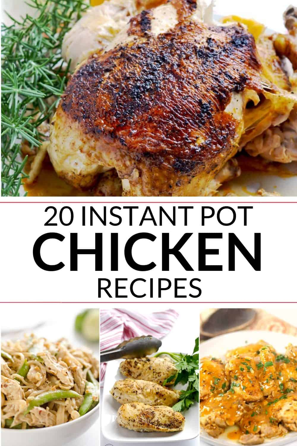 COLLECTION OF INSTANT POT CHICKEN RECIPES