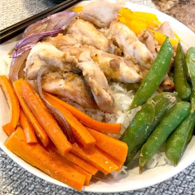 Sheet Pan Korean Chicken