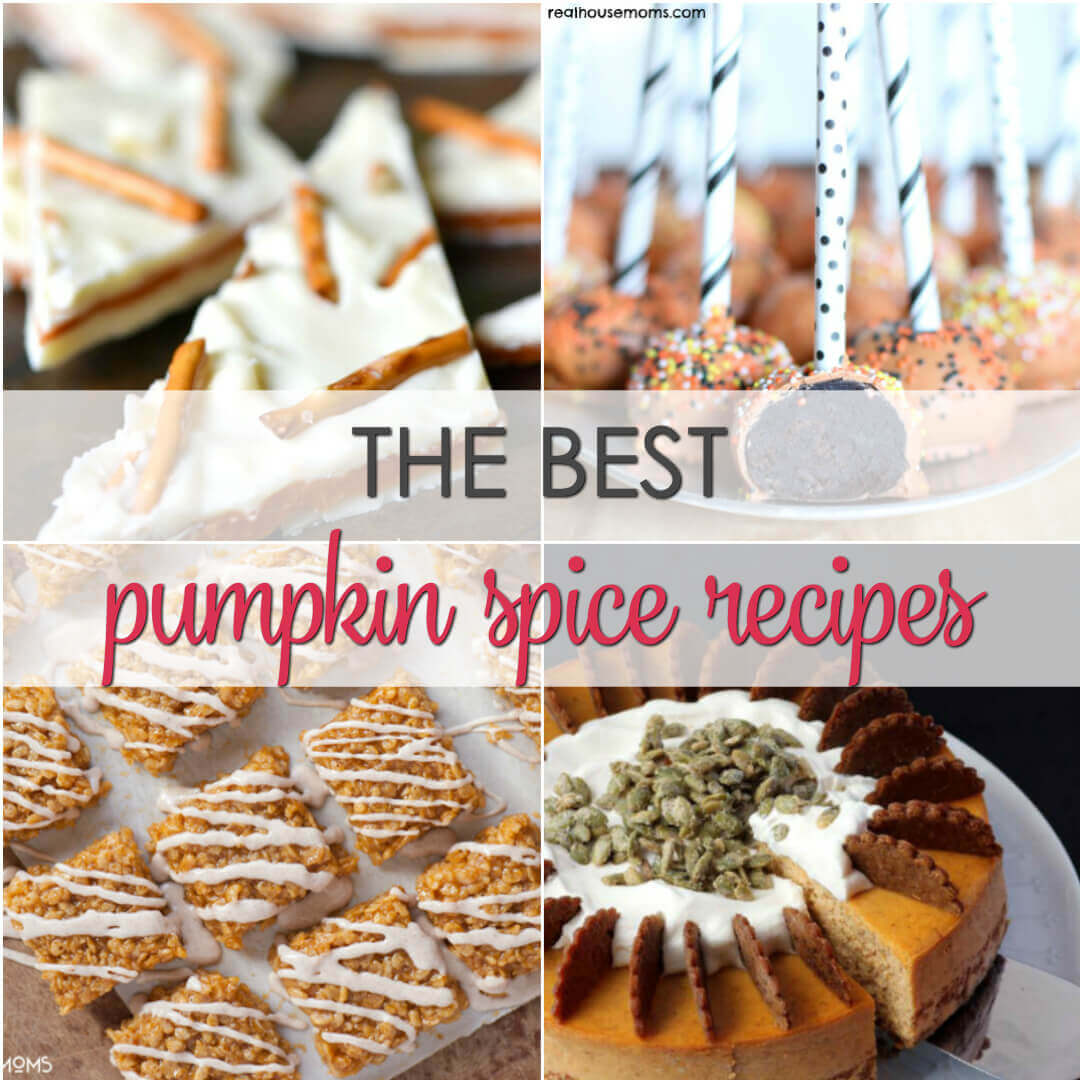The BEST Pumpkin Spice Recipes - the best sweet and savory pumpkin spice infused recipes from across the web