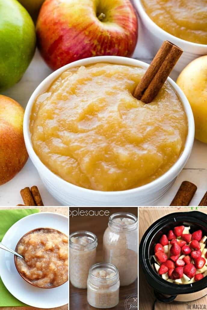 Collection of apple sauce recipes