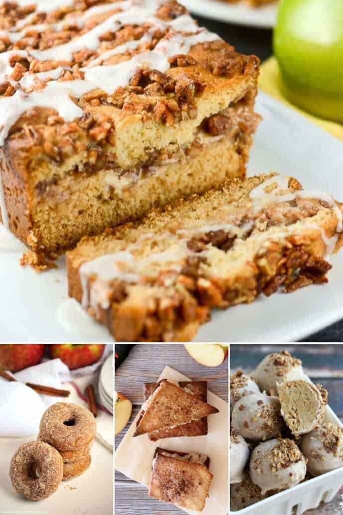 A collection of easy apple desserts
