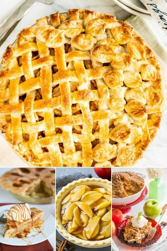 Collection of easy apple pie recipes