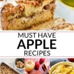 A collection of easy apple recipes