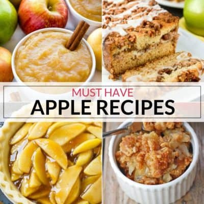 Must Have Easy Apple Recipes