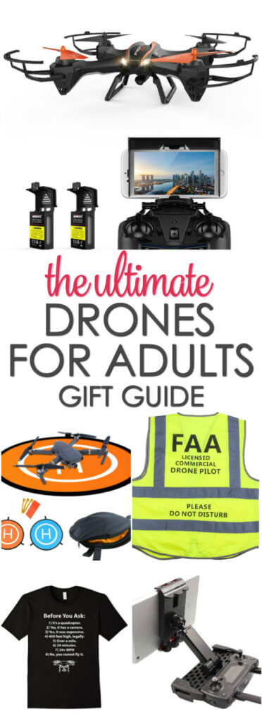 The Best Drone Gifts for Adults - these are sure to be some of the top Christmas gifts for men or women