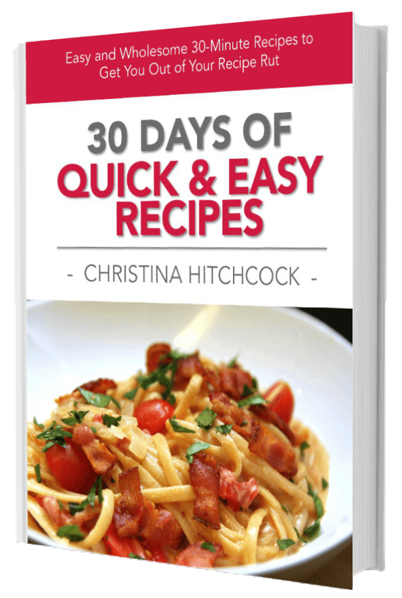 30 Days of Quick and Easy Recipes ebook