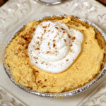 Easy Pumpkin Cheesecake recipe - this easy no bake dessert recipe is super simple to make but tastes so good
