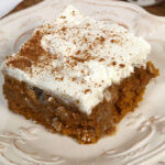 This is one of the best Pumpkin Poke Cake recipes you will ever try!  It's light, flavorful and oh, so moist.