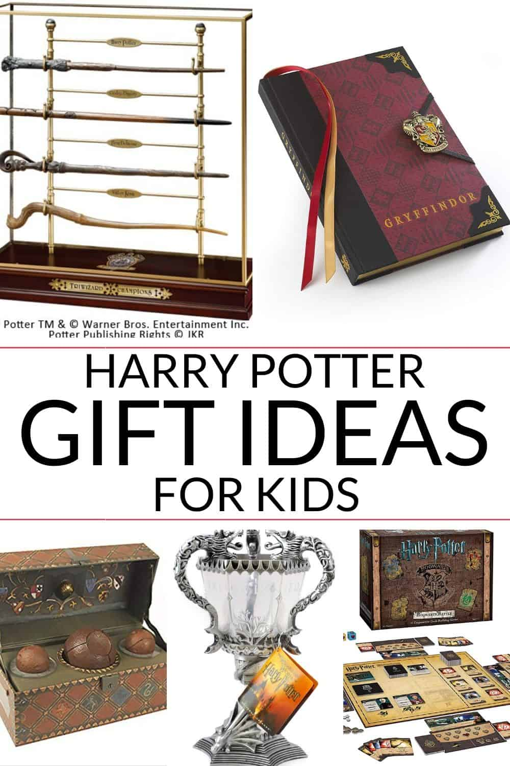 Collection of Harry Potter Gifts for kids