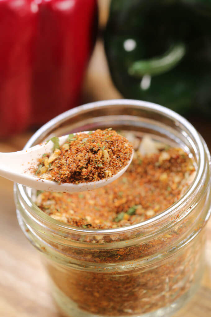 The basis of every great chili is the perfect Chili Seasoning Mix recipe.  This is the best chili seasoning mix recipe - it's perfectly balanced with heat, sweetness and flavor.
