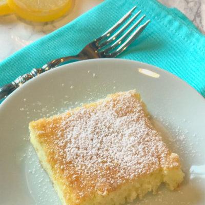 2 ingredient lemon angel food cake
