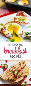 21 Day Fix Breakfast Recipes