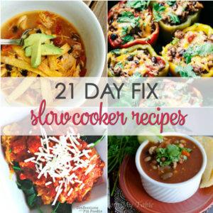 21 Day Fix Crock Pot
