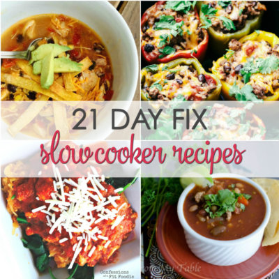 21 Day Fix Crock Pot Recipes