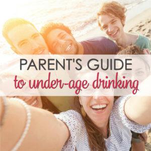 ways prevent underage drinking