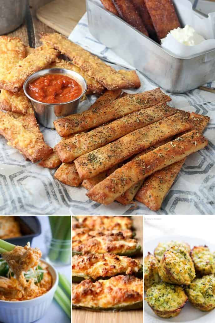 collection of Healthy Keto Snacks Recipes