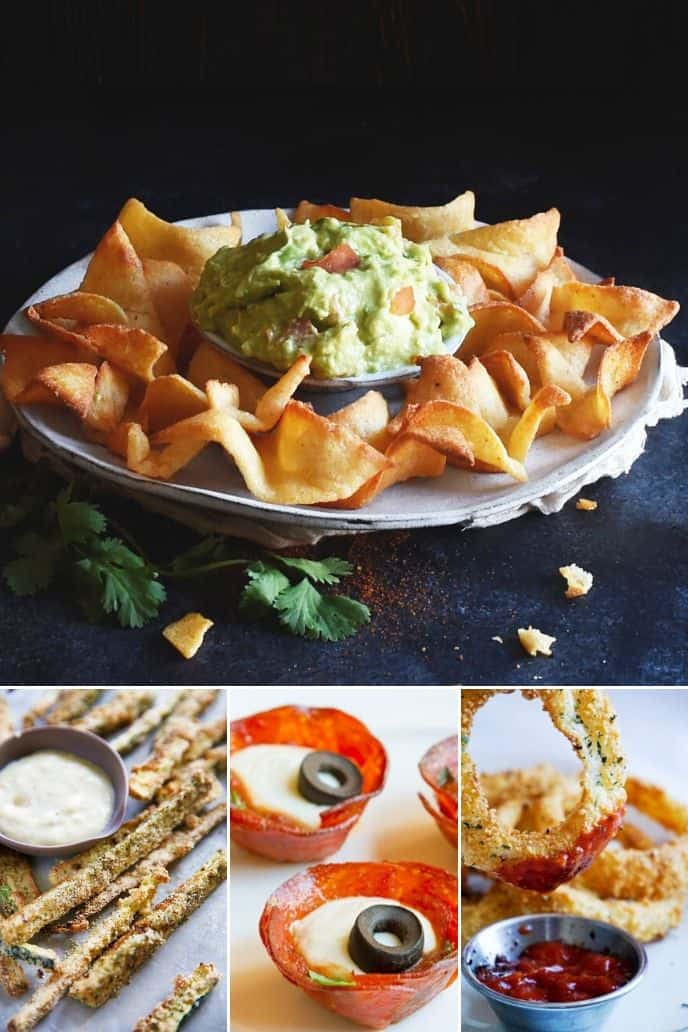 collection of Low Carb Easy Keto Snacks
