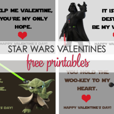 Star Wars Valentines Printables