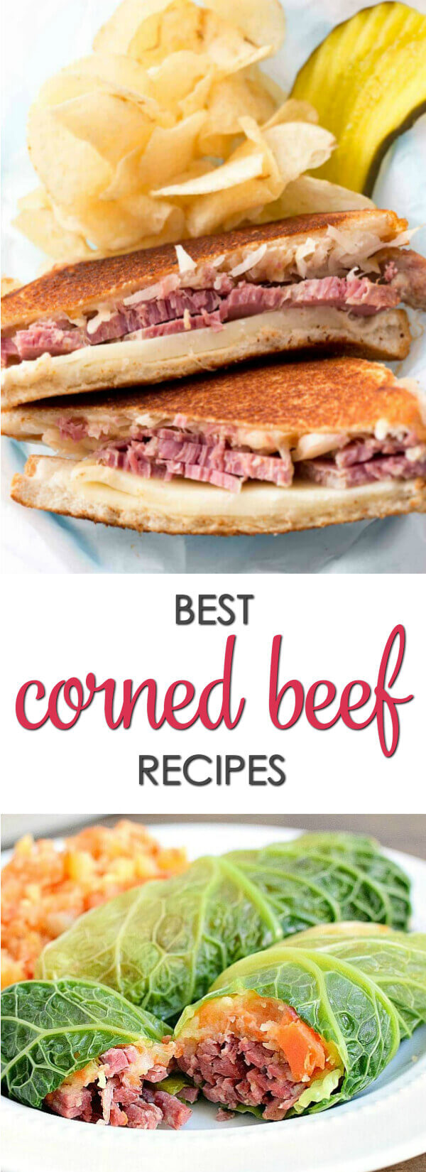 More than 40 of the best Corned Beef recipes - including baked Corned Beef recipes, and amazing corned beef crock pot recipe.These are some of my favorite easy St Patrick Day recipes.  #itisakeeper #recipes #stpatricksday