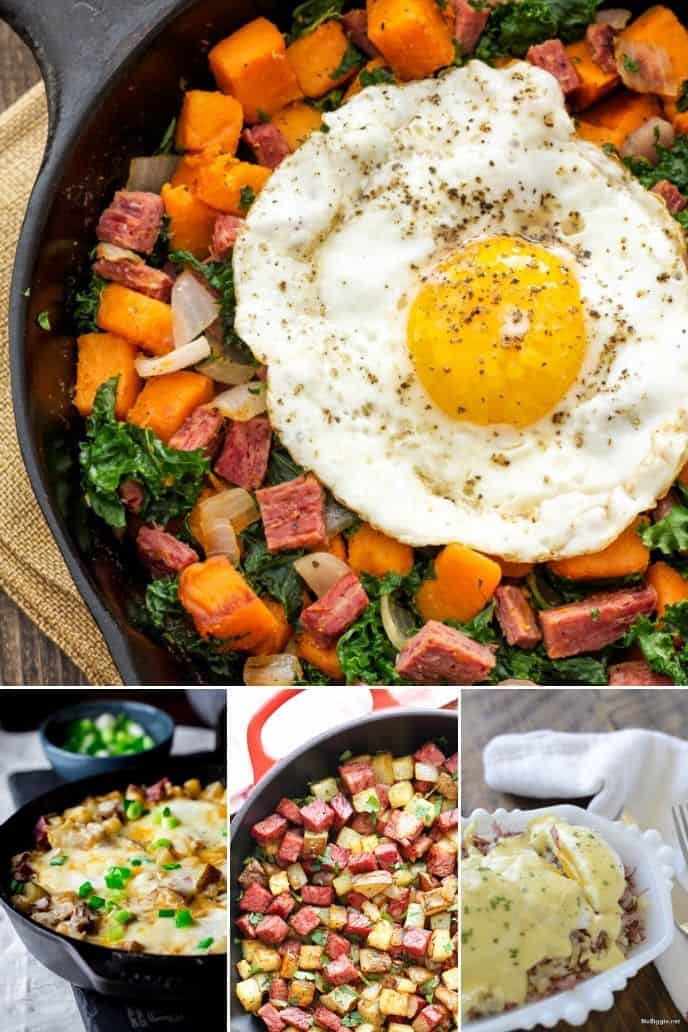 collection of Corned Beef Hash Recipe