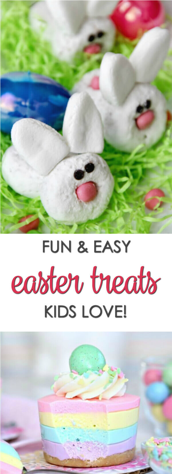 Make your Easter dinner complete with one (or two!) of these fun Easter treats recipes! They're so easy and cute, you won't want to eat them! #itisakeeper #recipe #easter