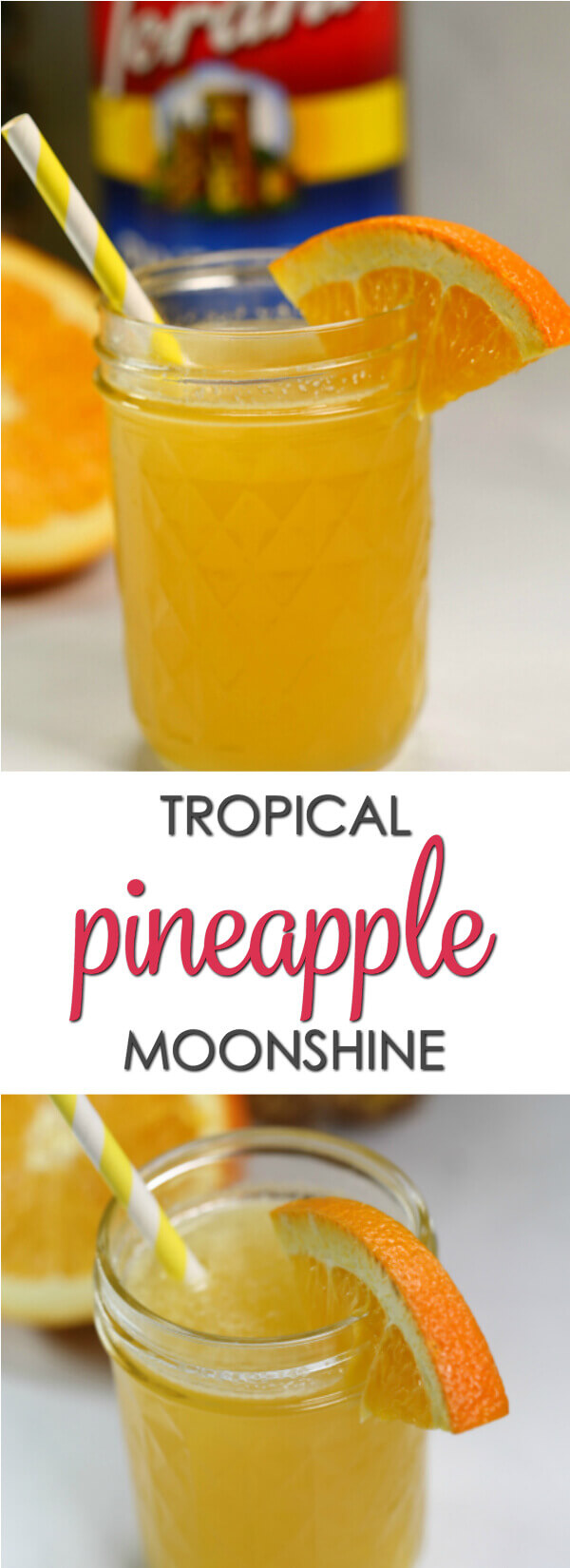 This Tropical Pineapple Moonshine Recipes Is Bursting With Coconut And Orange Flavors