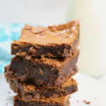 Homemade brownies Scratch