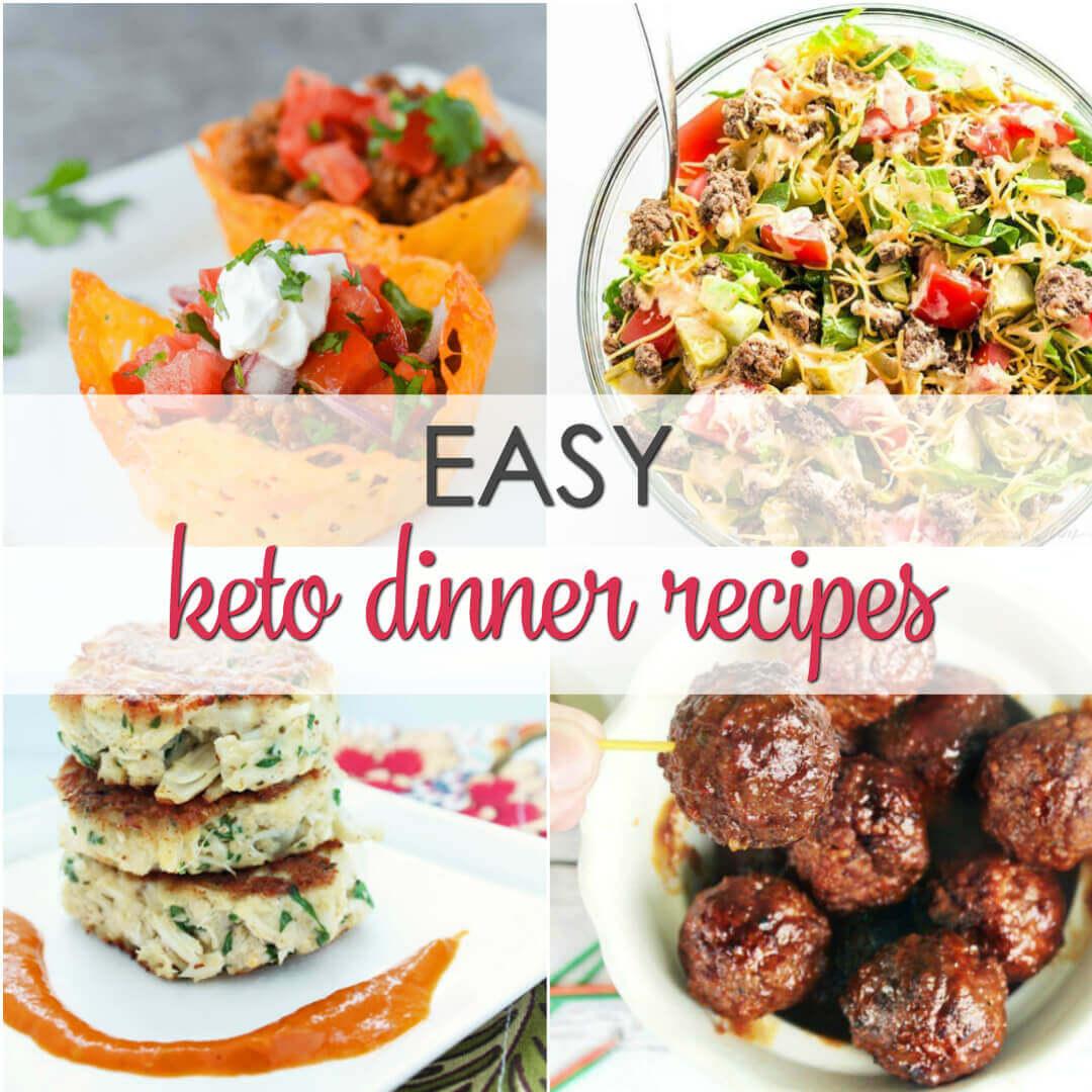 Keto Diet Dinner Recipes