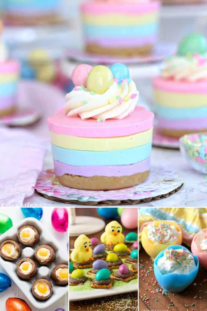 A collection of fun and easy easter treats