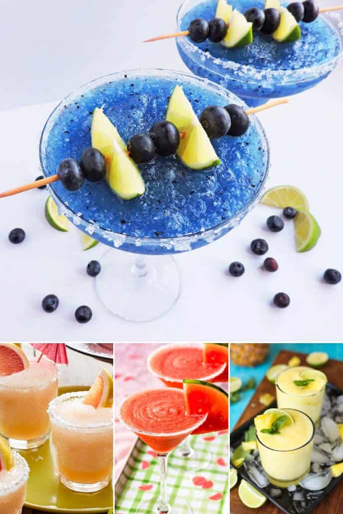 Collection of frozen margarita recipe