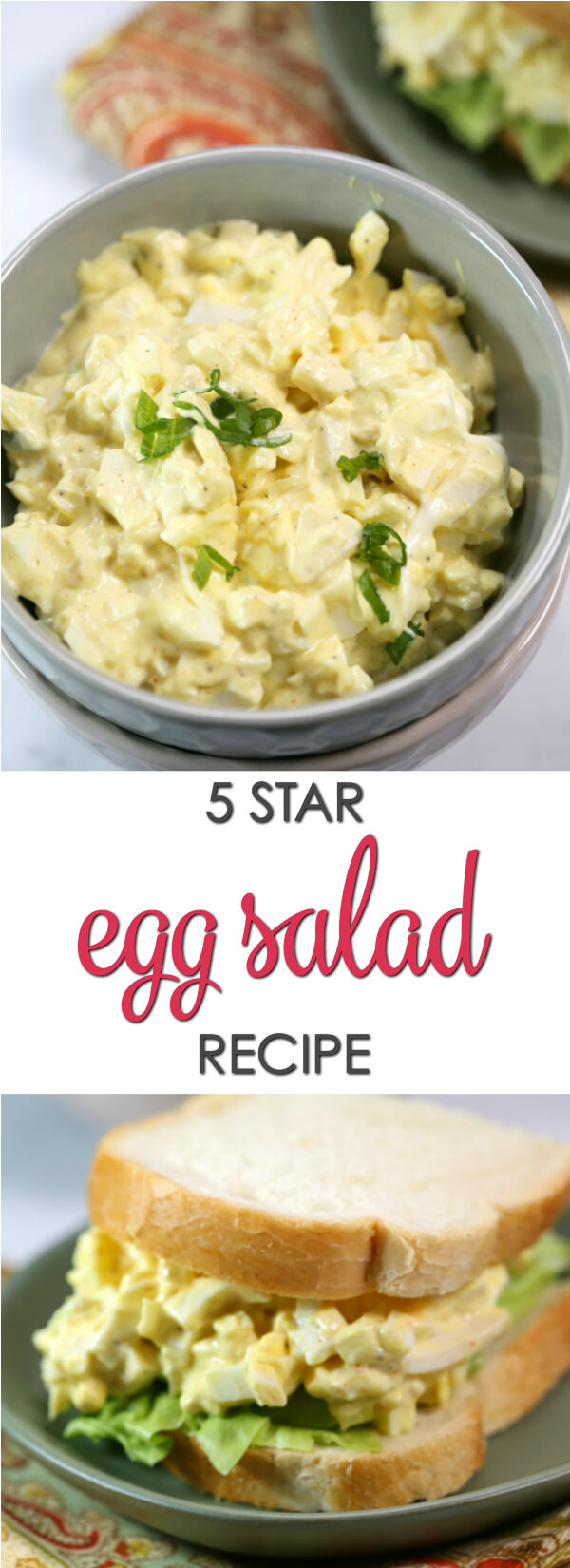 This old fashioned Egg Salad recipe is a classic recipe passed down from my grandmother. It's flavorful and creamy and makes the perfect sandwich. This is an easy basic egg salad recipe that every home cook should have. Find more recipes at www.itisakeeper.com  #itisakeeper #recipes #egg #Easter #sandwich #backtoschool #easyrecipe #classicrecipe