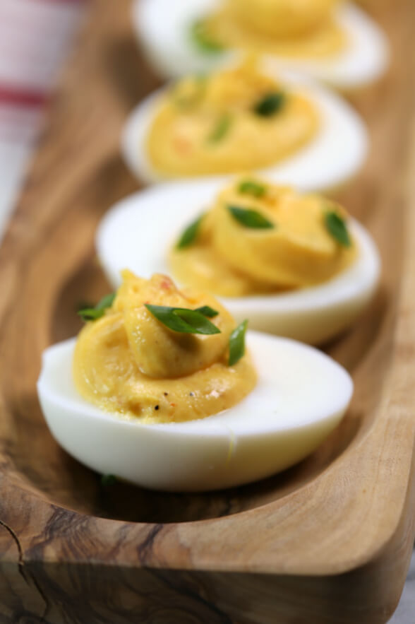 make deviled eggs recipe