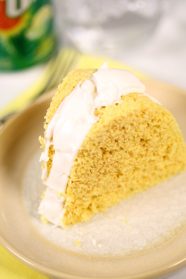 9 Minute Lemon Cake