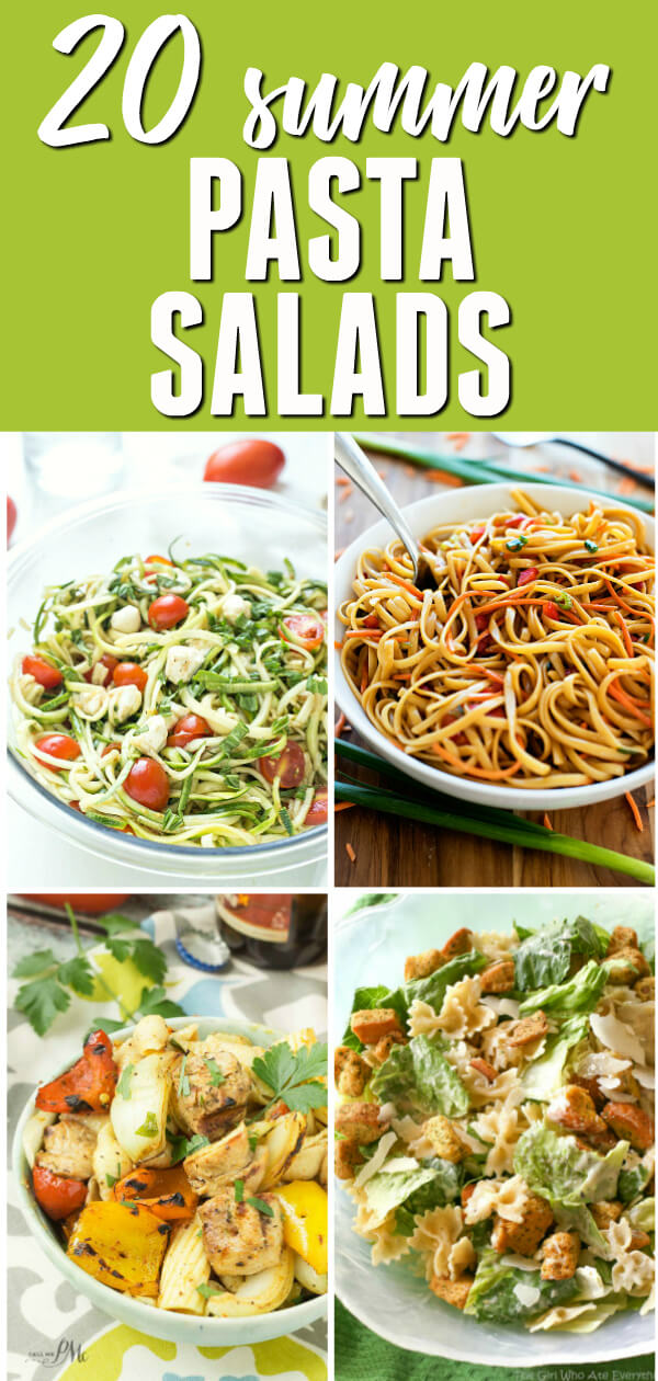 This is a collection of the best Pasta Salad recipes.  You'll find everything from creamy and vinaigrette based, to healthy and easy.  With everything from chicken and shrimp to Italian and Mediterranean, there are so many delicious flavor combinations.  There's something for everyone in this collection.  #itisakeeper #recipe #recipes #salad #pasta #pastasalad #Summer #grilling #picnic #easyrecipe #quickrecipe #sidedish #bbq