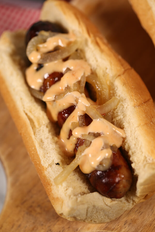 Grilled Beer Brats