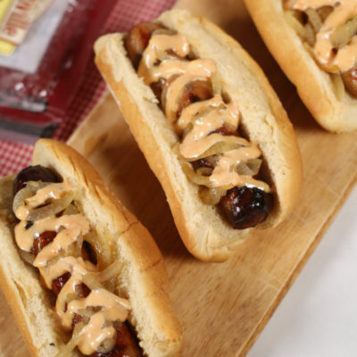 Garlic Beer Brats
