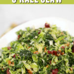 Kale Brussel Sprouts Salad
