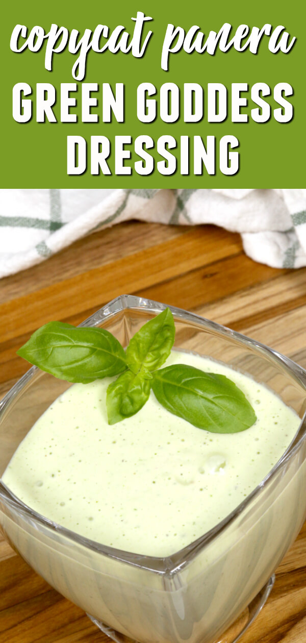 This Green Goddess Salad Dressing is one of my all time favorite homemade salad dressings.  It's light and creamy and full of flavor. #itisakeeper #recipe #recipes #easyrecipe #quickrecipe #copycat #panera #salad #saladdressing #greengoddess #homemade