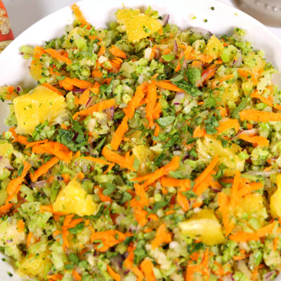 Citrus Fresh Broccoli Salad