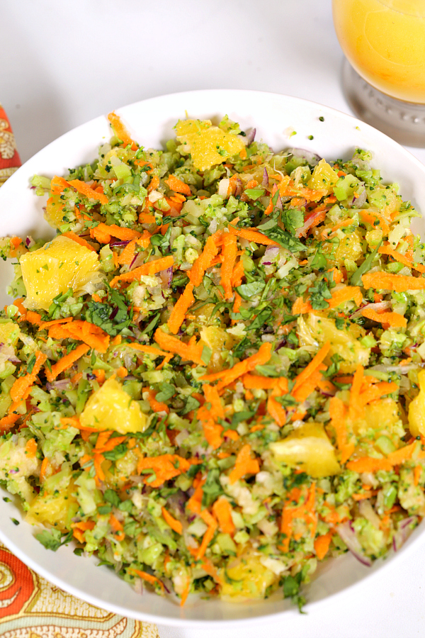 Citrus Fresh Broccoli Salad