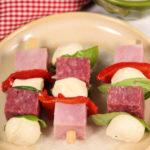 Italian Lunchbox Kabobs