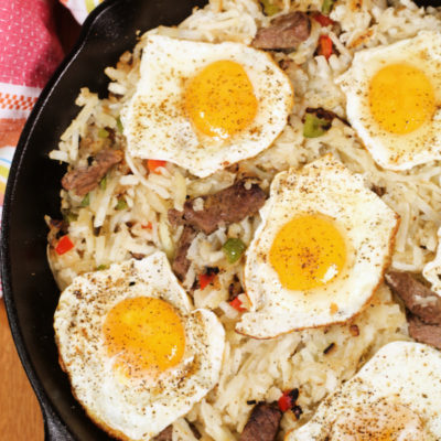 Steak and Egg Breakfast Skillet