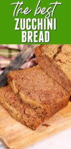 simple Zucchini Bread Recipe