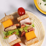 Turkey Club Lunchbox Kabobs