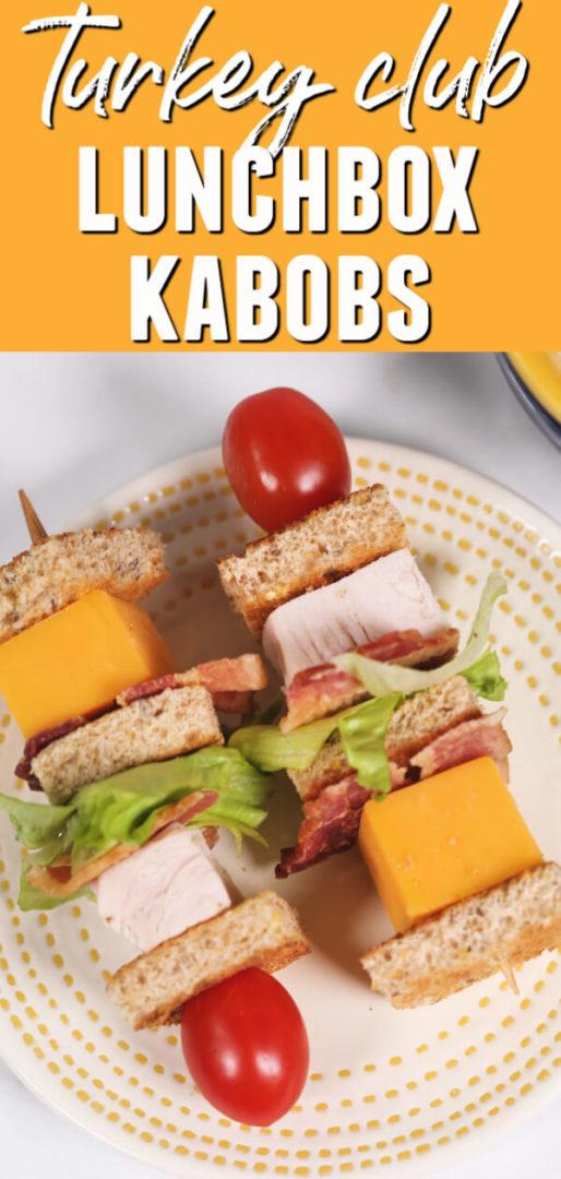Turkey Club Lunchbox Kabob