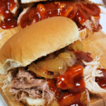 easy slow cooker pulled pork with cider sauce