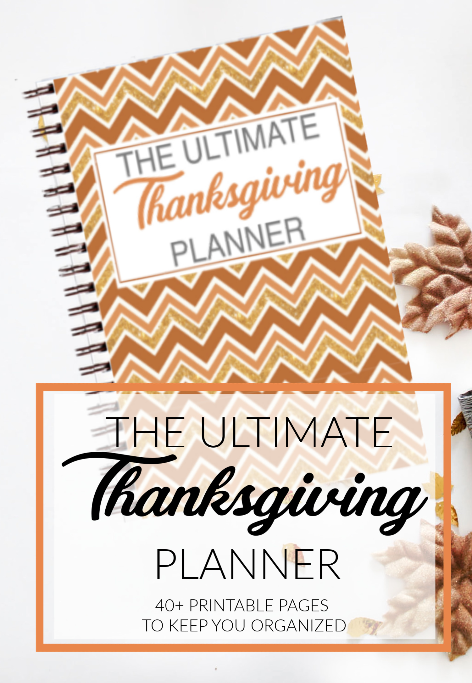 image relating to Thanksgiving Planner Printable known as Thanksgiving Working day Printable Planner Keep on being ready this trip
