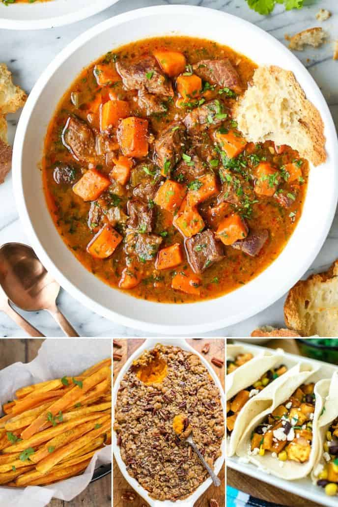 Collection of simple Sweet Potato Recipes