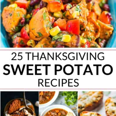 Collection of Thanksgiving Sweet Potato Recipes