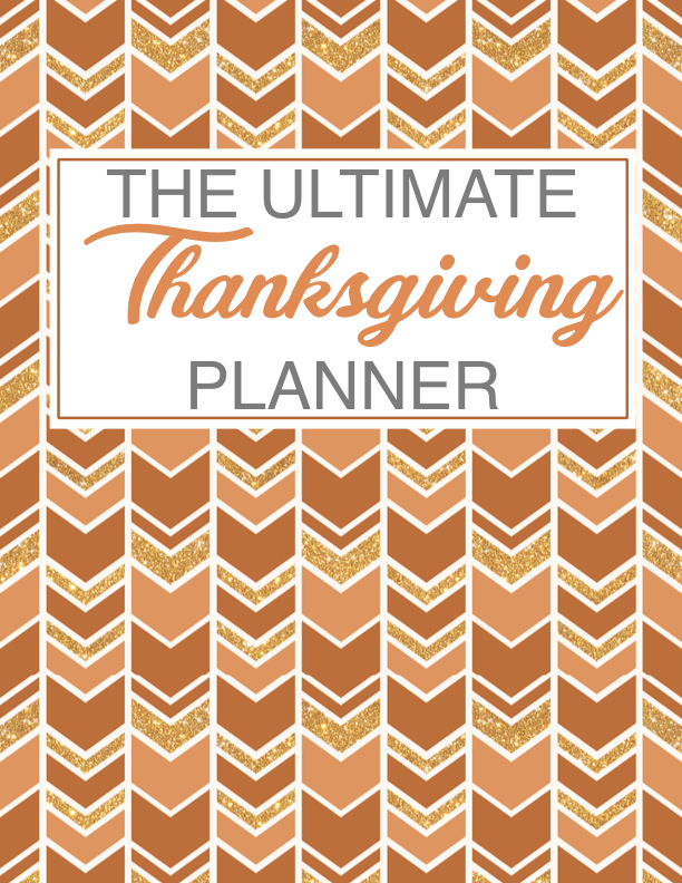 Ultimate Thanksgiving Day Planner Printables
